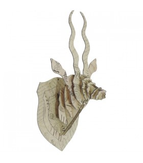 Trophée antilope Calligraphie