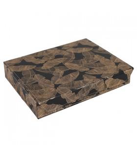 Boîte à Bijoux Banaé Doré Noir