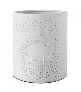 Veilleuse Porcelaine Faon