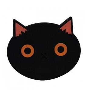 Dessous de Verre Chat Noir, par 2