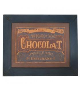 Enseigne chocolat rétro