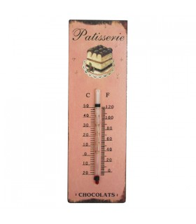 Thermomètre mural Chocolats