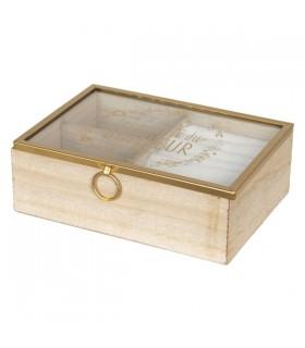 Boîte à Bijoux Les Secrets Du Bonheur