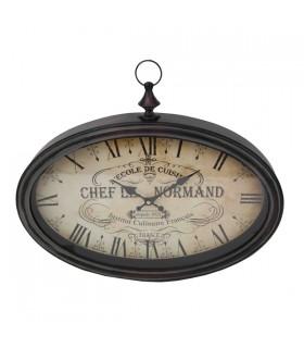 Horloge Murale à Gousset Chef Le Normand