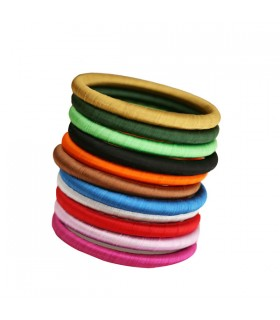 Bracelet rigide en soie