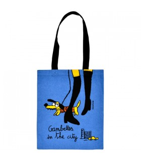 Tote Bag Gambettes in Blue