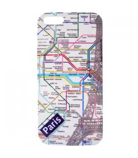 Coque iPhone 5 plan de métro Paris