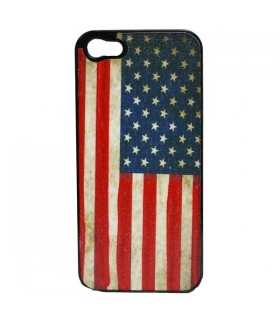 Coque iPhone 5 US Flag
