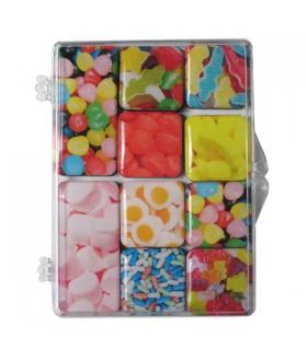 Set de 10 magnets bonbons Haribo