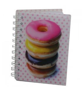 Carnet à spirales Donuts