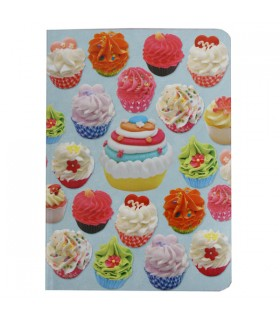 Carnet cupcakes gourmands
