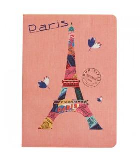 Carnet Paris fleuri