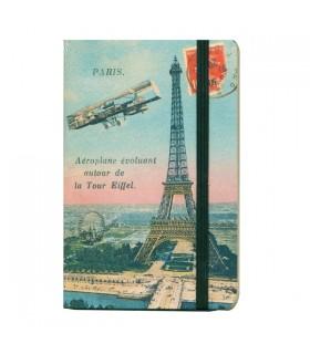 Carnet Paris Aéroplane 10*15