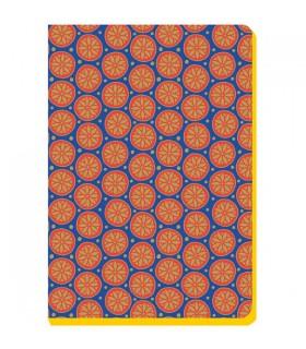 Carnet bohème orange