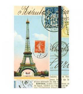 Carnet Cavallini Paris collage