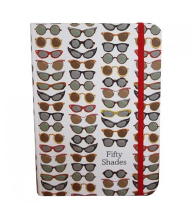 Carnet journal Lunettes Fifty Shades