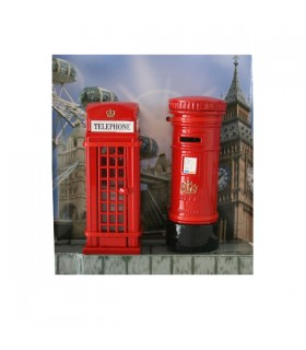 Lot de 2 taille-crayons London