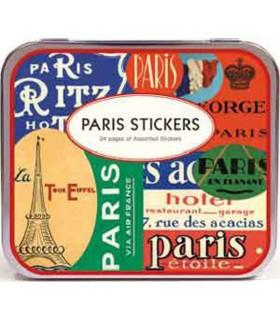 Étiquettes anciennes Paris - sticker