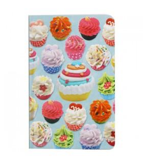 Carnet de poche cupcakes gourmands