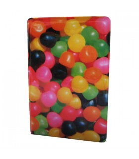 Carnet Plastifié Bonbons