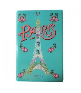 Carnet Plastifié Paris vintage