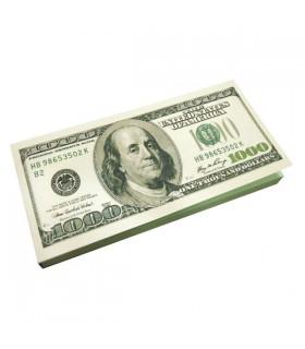 Carnet bloc dollar