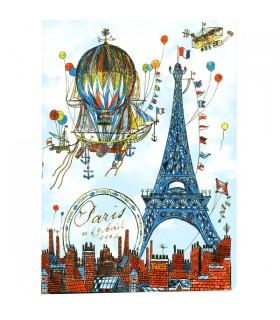 Carnet Paris Montgolfière