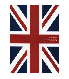 Cahier notebook Union Jack