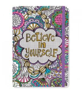 Livre à colorier Believe in Yourself