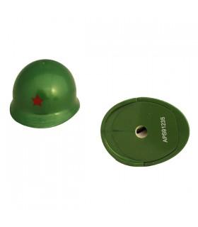 Taille-crayon casque Vert Kaki