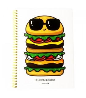 Cahier à Spirale Hamburger