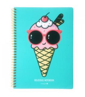 Cahier à Spirale Ice-Cream