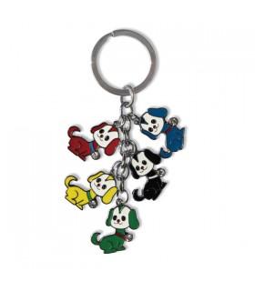 Porte-clés breloques chiens