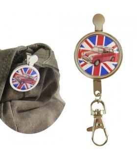 Porte-clés clip Union Jack