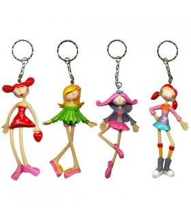 Porte-clés poupée