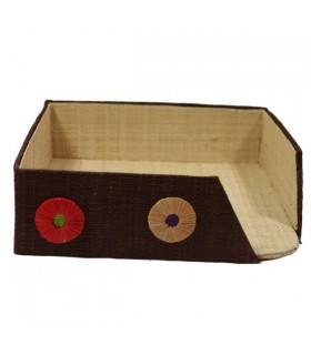 Porte-Serviettes en Papier Pastilles Chocolat