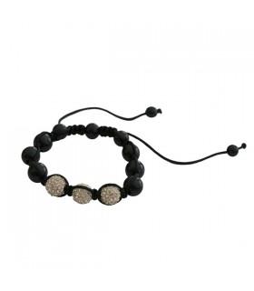 Bracelet shamballa argenté