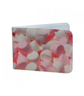 Porte-Cartes Bonbons roses