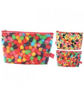 Grande trousse plastifiée bonbons