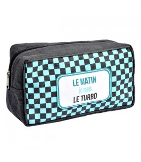 Trousse de Toilette Homme Turbo
