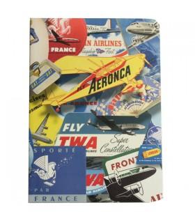 Carnet étiquettes de voyage