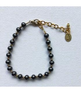 Bracelet femme Hématite