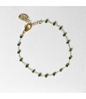 Bracelet Perles Facettées