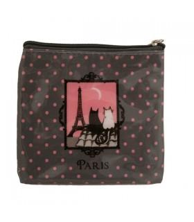 Porte-monnaie souple chats de Paris