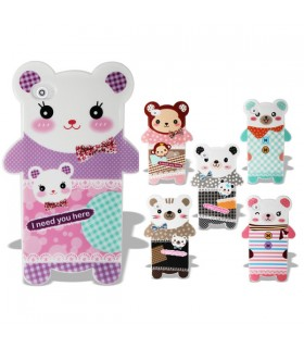 Coque iPhone 4 - 4S sweety animals