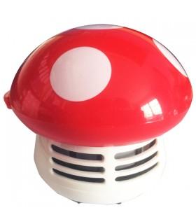 Mini aspirateur de bureau champignon