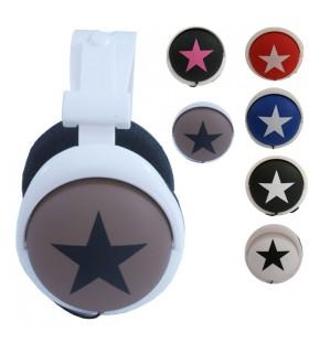 Casque audio étoile
