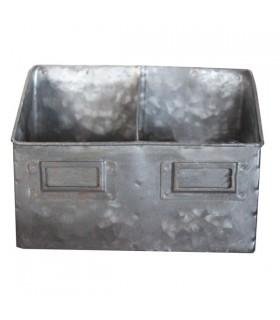 Range-couverts en zinc