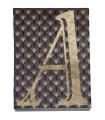 Carnet monogramme noir