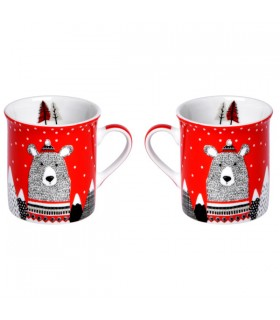 Mini Mugs Ours on Ice par 2